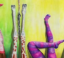 Who is cheating? Legs Up! by Yvonne Lautenschlaeger aka medea