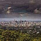 Stormy Brisbane by AllshotsImaging