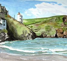 """Chaff Cove # 1"" - Port Isaac, Cornwall by Timothy Smith"