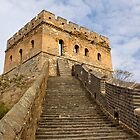 Jinshanling Tower by Karen Millard