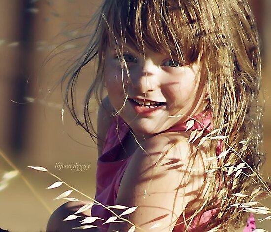 A little girl by ibjennyjenny