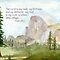 Half Dome: My Rock- Psalm 18:2 by Diane Hall