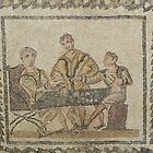 Gaming - Roman mosaic in Tunisia by Kiriel