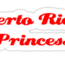 Puerto Rican Princess Sticker