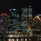 Melbourne nightlights by AmyBonnici