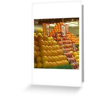 A Fruitful Pattern Greeting Card