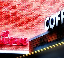 Love coffee by Mark Malinowski