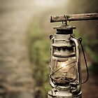 Foggy Lantern by Steven Johnson