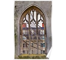 The Windowless Window - St Dunstan in the East - London Poster