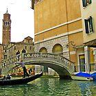 Gondola Venice  by kirkgunn