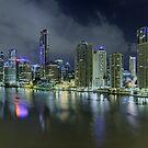 Brisbane - 1am by AllshotsImaging