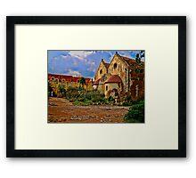 Monastic Life Framed Print
