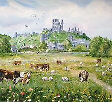 Corfe Castle by Joe Trodden