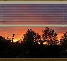 Window Sunset by bicyclegirl