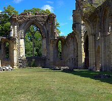 Netley Abbey by Peter D
