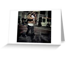 Intersection  Wild fire ! Greeting Card