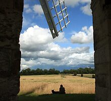 A view form Chesterton Windmill by Sue Tyler