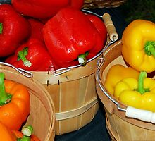 Bell Peppers by ggpalms