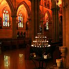 St Mary's Cathedral, Sydney by Christine Smith