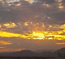 Vegas sunrise by Henry Plumley