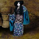 Geisha with Pots by Jeff Burgess