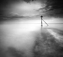 The Breakwater Shuffle BW by Andy Freer