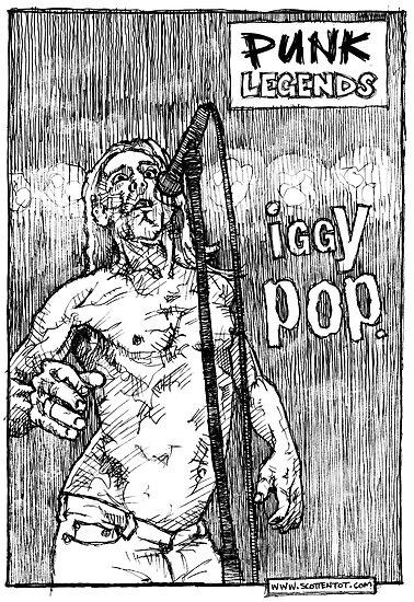 Iggy Pop by scottentot