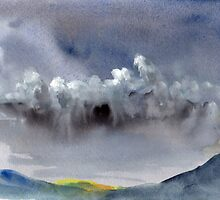 Incoming Storm  by Adrian Symes