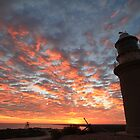 A Vlamingh Sunrise - Vlamingh Head Lighthouse Exmouth WA Australia by cookieshotz