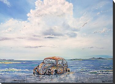 VW Beetle in need of T.L.C. by Joe Trodden