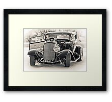 Blown '32 Hotrod Framed Print