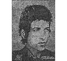 Bob Dylan - Singer, songwriter, poet.   (2002) Photographic Print
