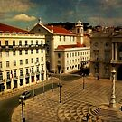 Lisbon....Town Hall square by tereza del pilar