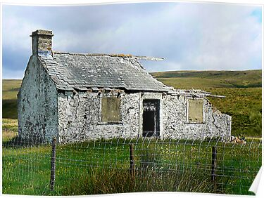 Ruin in the Dales by Trevor Kersley