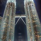 Kuala Lumpur City Center (KLCC) - HDR by artz-one