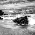 Splash (B&amp;W) by artz-one