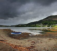 Portree Bay on Skye by Paul  Gibb