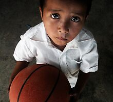 All my hope in a brand new basketball by Alex Marshall