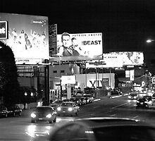 Sunset Strip at Night by kapualani .