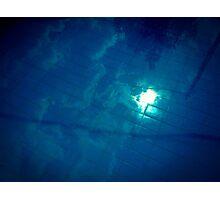 Blue Oblivion Photographic Print