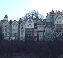 Ramsay Gardens, Edinburgh by rualexa