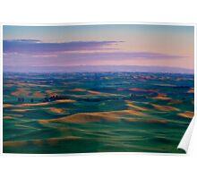 Palouse Sunset Poster