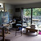 My Studio almost tidy by Ken Tregoning