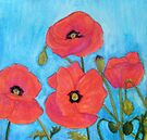 Red Poppies VIII by Alexandra Felgate
