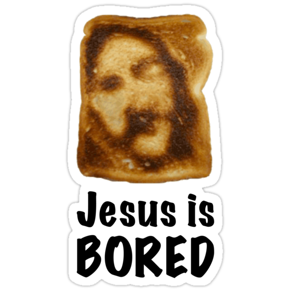 Jesus is...bored by tastypaper