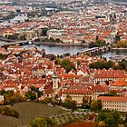 Prague from Upon High by eegibson