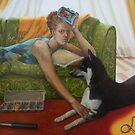 Earth, oil on canvas, 2005. by fiona vermeeren