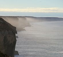 Great Australian Bight, Nullarbor, South Australia by BigAndRed