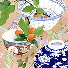 kumquats and ginger jar - larger by Gabby Malpas