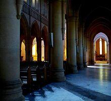 Sacred Heart Interier by Lozzar Landscape